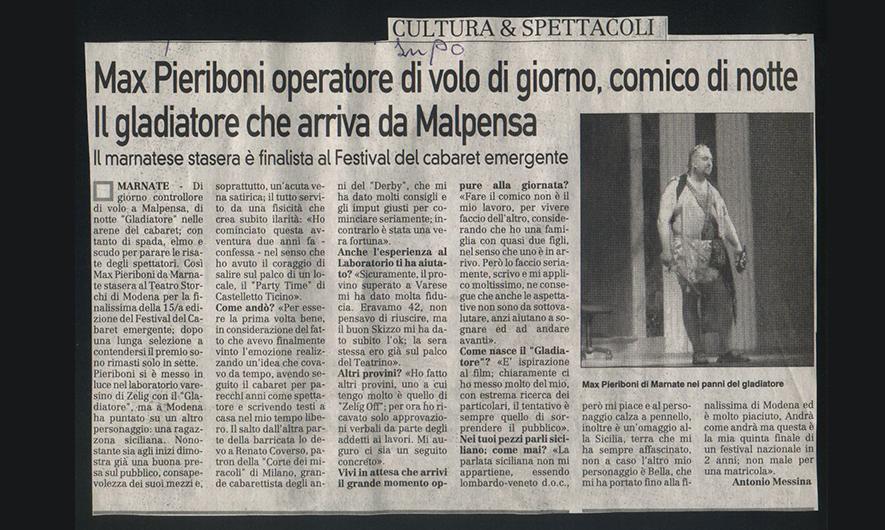 Max Pieriboni press