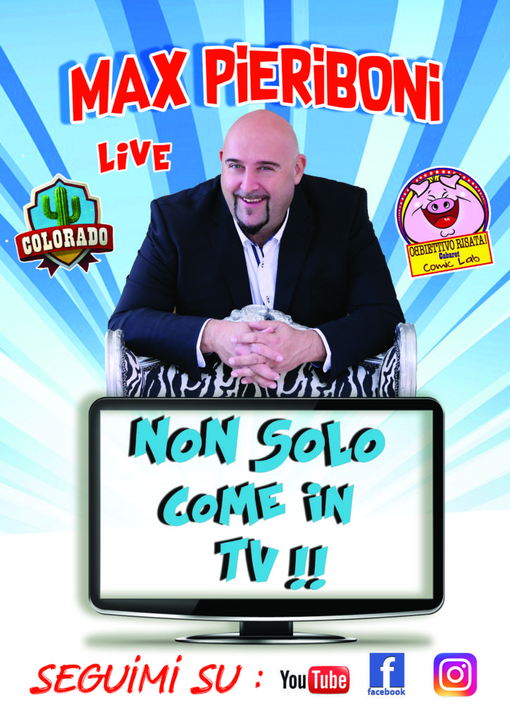 Max Pieriboni live cabaret